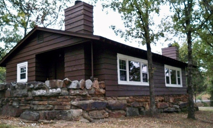1 night stay in one or two bedroom cabin for up to six at tenkiller state park up to half off Lake Tenkiller State Park Cabins