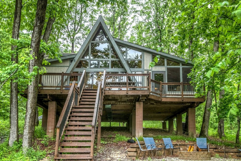 10 glamping sites near st louis to check out this fall Cabins Near St Louis