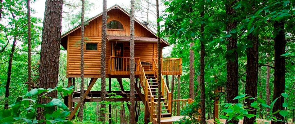 12 tree house hotels and rentals the south treehouse Cabins In Eureka Springs Ar
