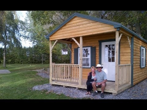 12 x 24 prefab cabin walk through 12×24 Lofted Cabin