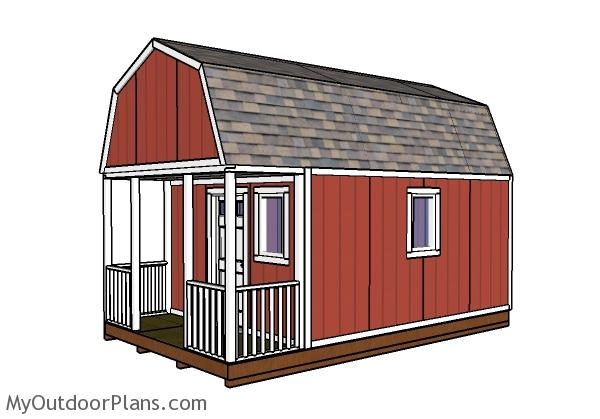 12x20 small cabin plans diy hunting shack myoutdoorplans Hunting Cabin Plans