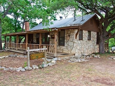 1br cabin vacation rental in hunt texas 159267 agreatertown Cabins On Guadalupe River