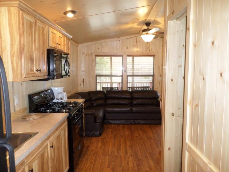 2 bedroom cottage at indian creek rv resort in geneva on the Indian Creek Cabins