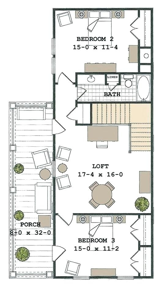 24 x 24 floor plan woodprofitsco 24×24 Cabin Floor Plans With Loft