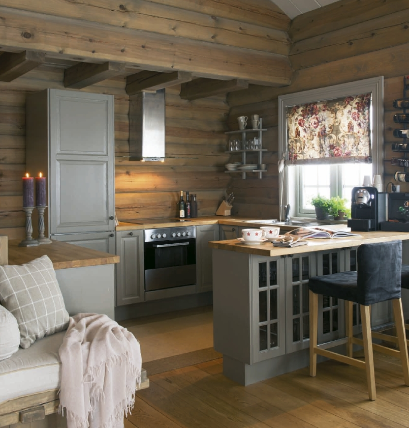27 small cabin decorating ideas and inspiration kitchen Small Cabin Ideas Interior