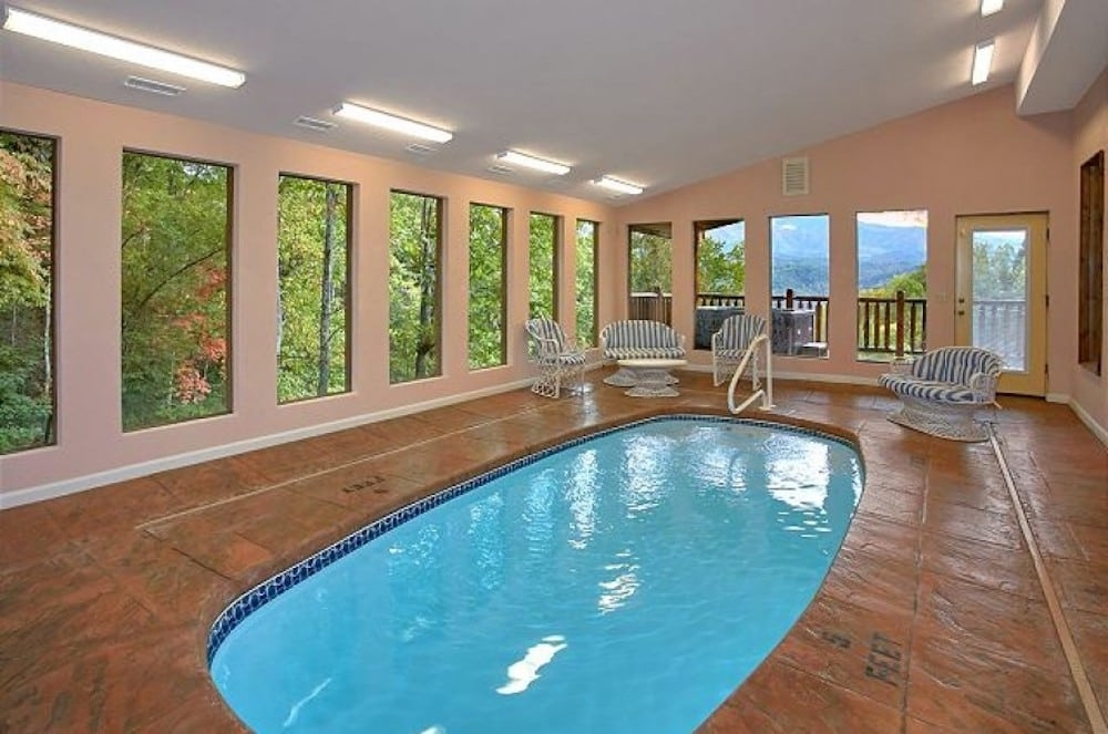 3 reasons to stay in a gatlinburg cabin with an indoor pool Gatlinburg Cabins With Pool