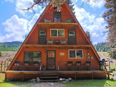 3br cabin vacation rental in red river new mexico 113607 Cabins Red River Nm