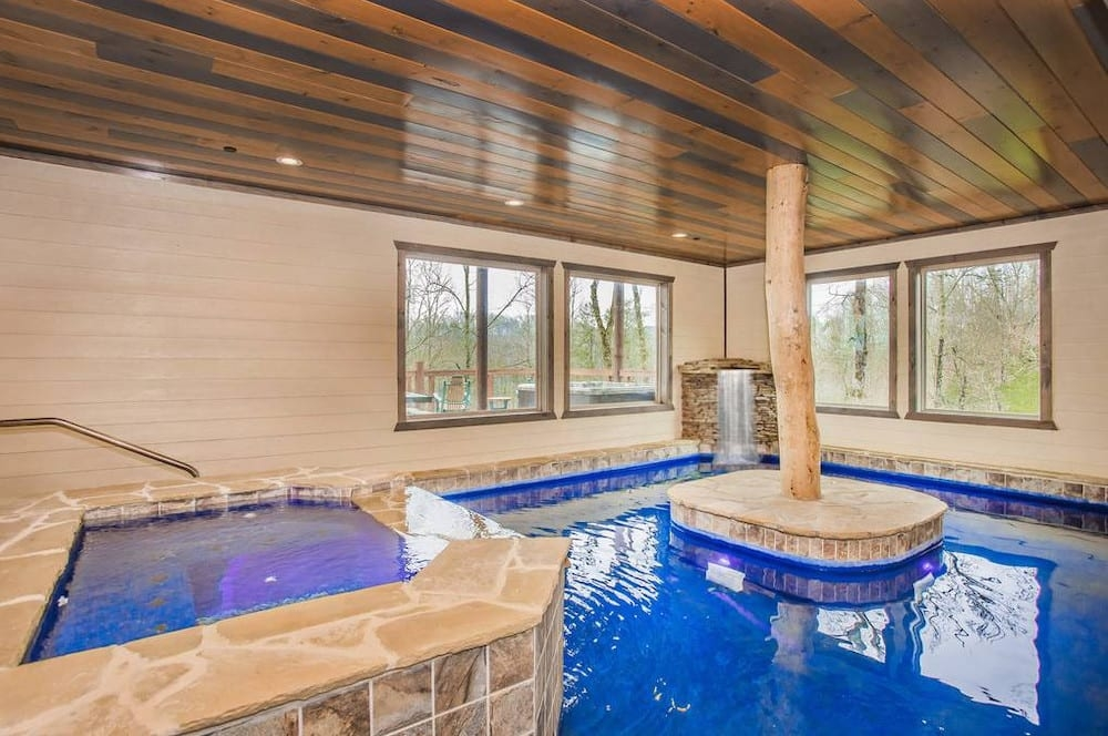 4 incredible gatlinburg cabins with indoor pools and home Cabins With Pools