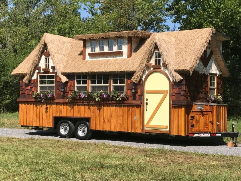 40 best tiny houses on wheels that are downright inspiring Tiny Cabin On Wheels