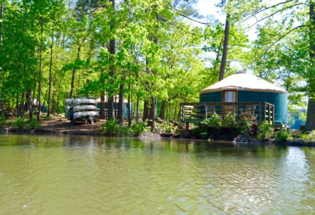 5 georgia state parks that offer yurt camping Ga State Parks Cabins