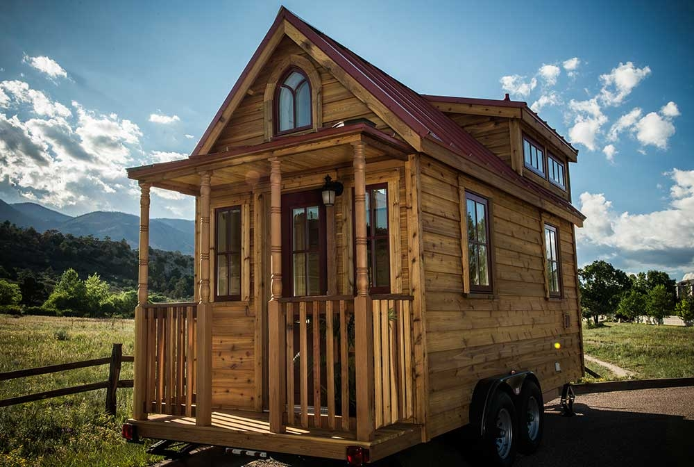 7 awesome log cabins on wheels log cabin hub Tiny Cabin On Wheels