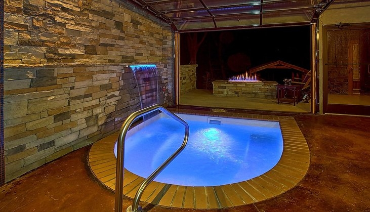7 top gatlinburg cabins with indoor pools book online Gatlinburg Cabin With Pool