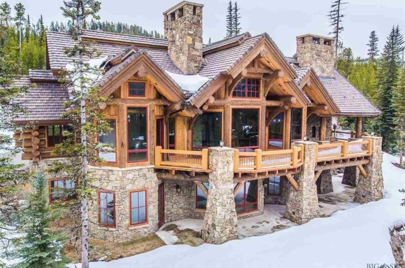 8 of the most stunning log cabin homes in america Log Cabin Homes
