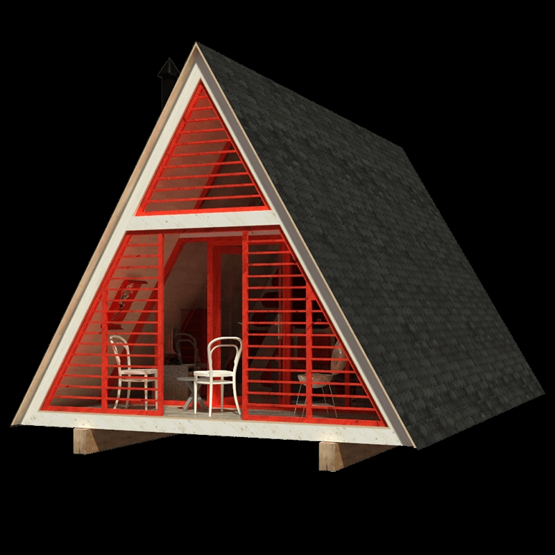 a frame cabin plans dolores Building An A Frame Cabin