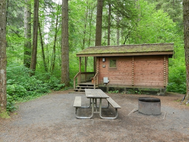 a rustic cabin stay at silver falls state park oregon Oregon State Parks Cabins