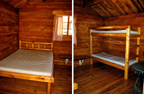 affordable rustic sleeping cabins at mammoth mountain rv Mammoth Mountain Cabin