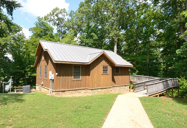 aint she sweet cabin 11 at occoneechee state park state Va State Parks Cabins