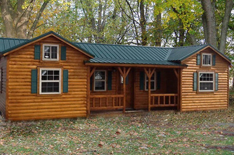 amish cabins this log cabin kit can be yours for 16350 Log Cabin Builders Indiana