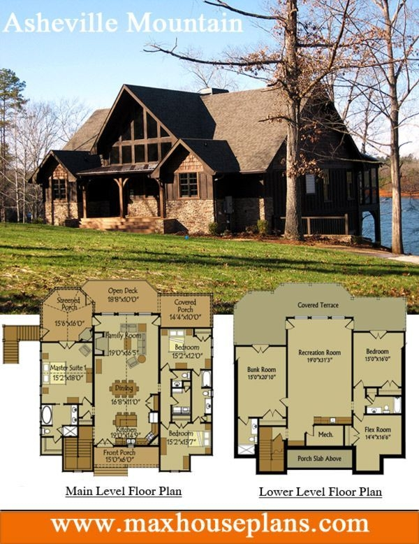 appalachia mountain pole barn house in 2019 lake house Lake Cabin Floor Plans