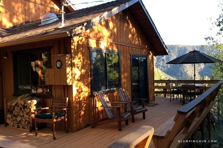 beautiful cabin with mountain views in los padres national forest california Los Padres National Forest Cabins