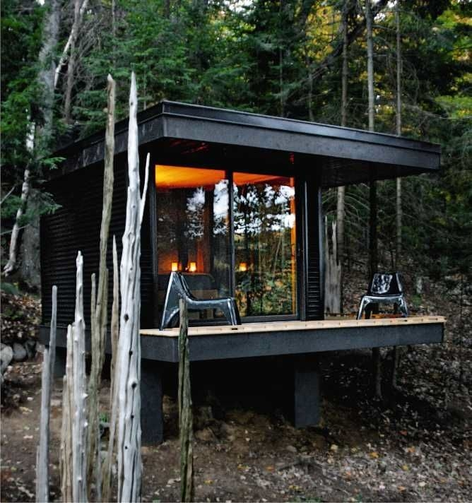 beautiful cabins around the world built with an eye on Small Contemporary Cabins