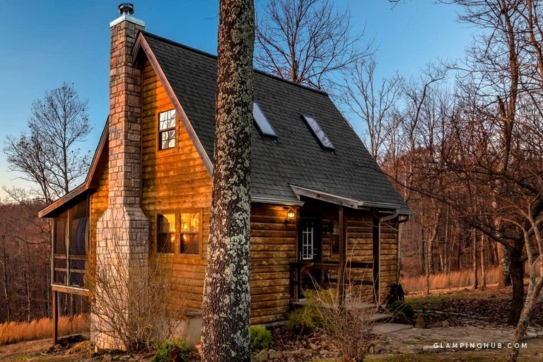 beautiful log cabin for a romantic getaway near ozark national forest arkansas National Forest Cabins