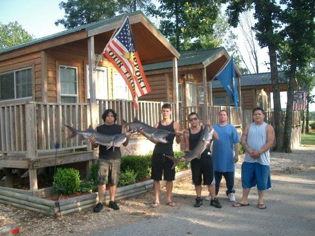 best place to stay for fishing grand lake oklahoma Oklahoma Vacation Cabins
