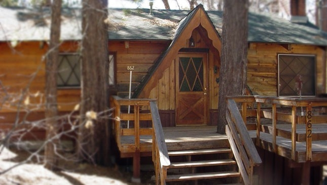 big bear cabin rental eagles nest lodge big bear lake Big Bear California Cabins