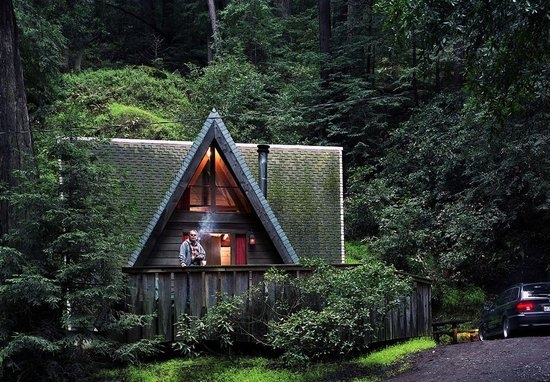 big sur campground cabins big sur ca california beaches Camping Sites With Cabins