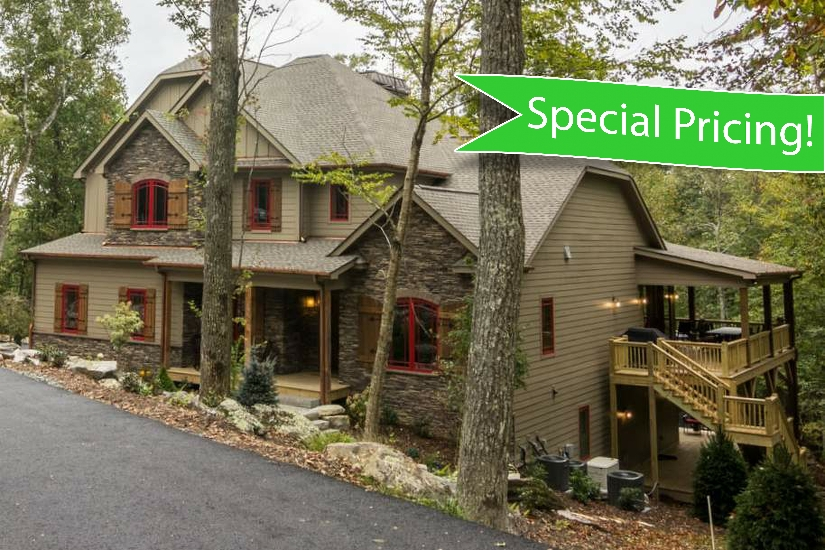 blue ridge mountain rentals fern ridge lodge in sweetgrass Blowing Rock Nc Cabins