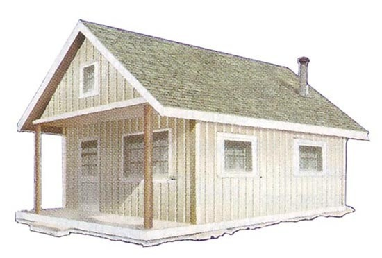 build this cozy cabin for under 4000 Mother Earth Build This Cozy Cabin