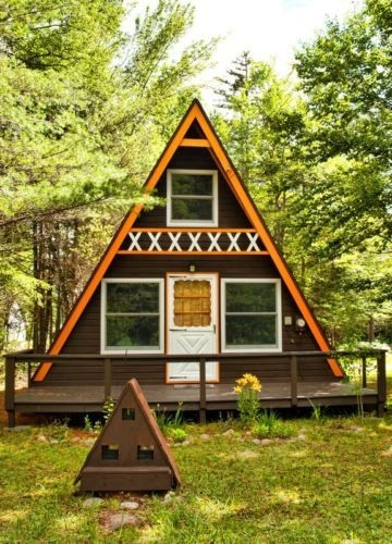 build your own 24 x 21 a frame 2 story cabin diy plans Building An A Frame Cabin