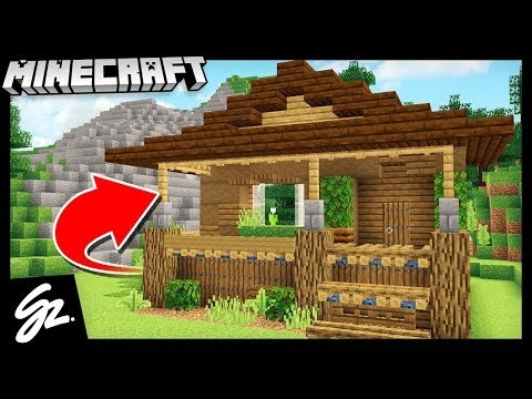 building a cabin house minecraft 114 lets play Minecraft Cabin House