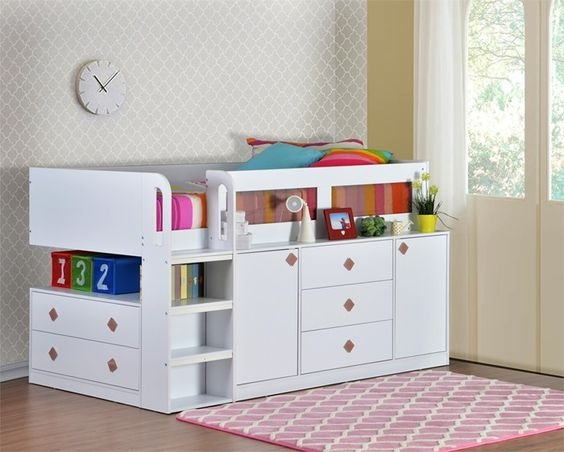 cabin beds for small bedrooms rock my style Kids Cabin Beds With Storage