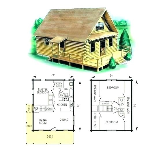 cabin floor plans with loft free small 24×24 building canada 24×24 Cabin Floor Plans With Loft