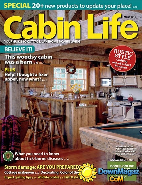 cabin life march 2014 download pdf magazines magazines Cabin Life Magazine