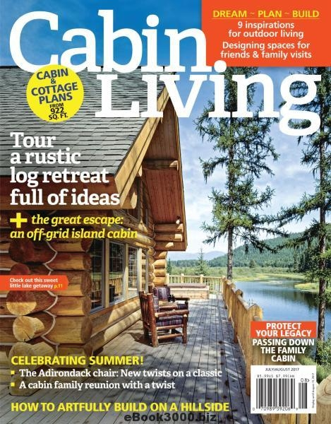 cabin living july august 2017 free pdf magazine download Cabin Living Magazine