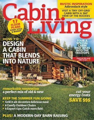 cabin living magazine september 2016 issue get your Cabin Living Magazine