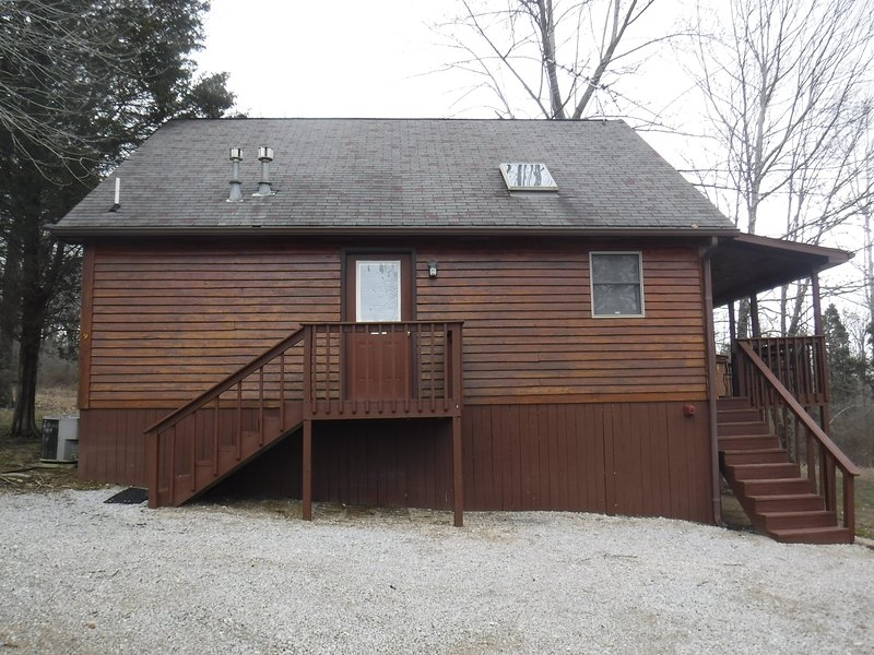 cabin nine optimum hot tub has grill and porch updated Paoli Peaks Cabins