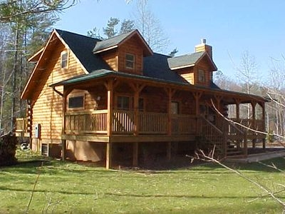 cabin with lake swimkayak access remaining days in oct have been reduced lake lure Cabins Lake Lure Nc