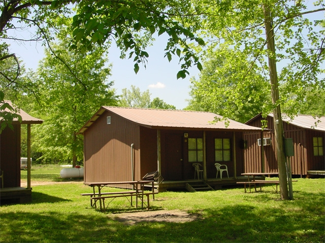 cabins eminence missouri mo campground cabins cottages Jacks Fork River Cabins