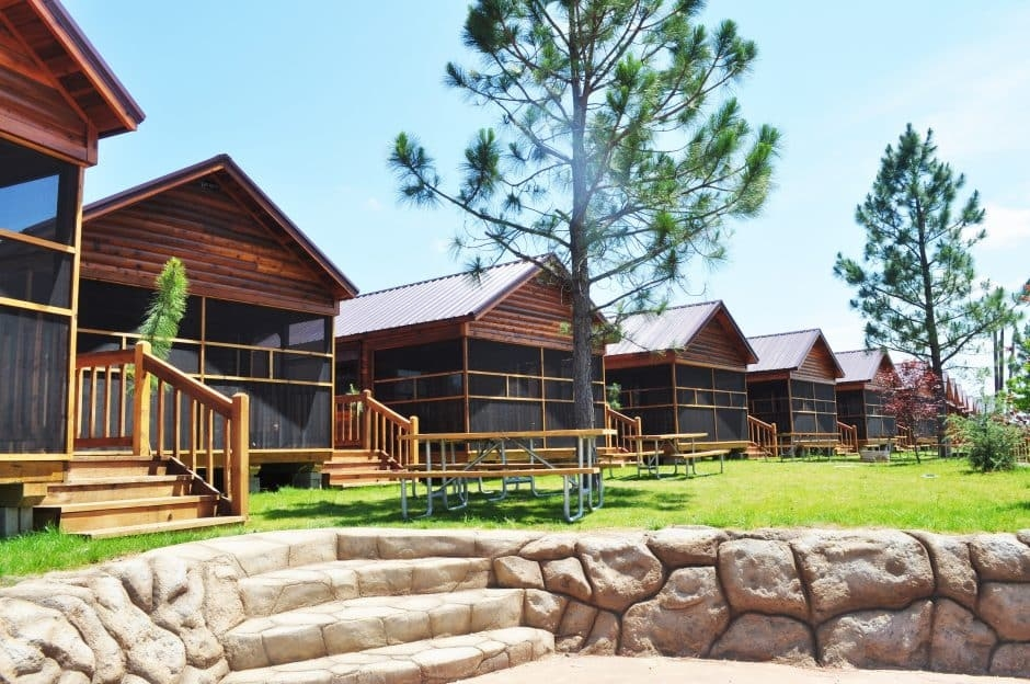 cabins in texas at jellystone park is a fun place for all Jellystone Park Cabins
