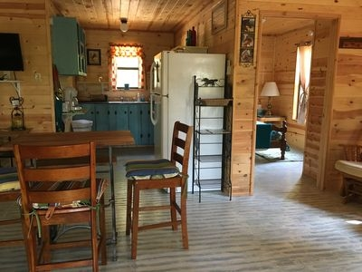 cabins near dequeen lake and mountain fork river gillham Mountain Fork River Cabins