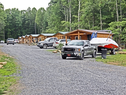 cabins yurts summersville camping cabins yurts Mountain Lake Campground And Cabins