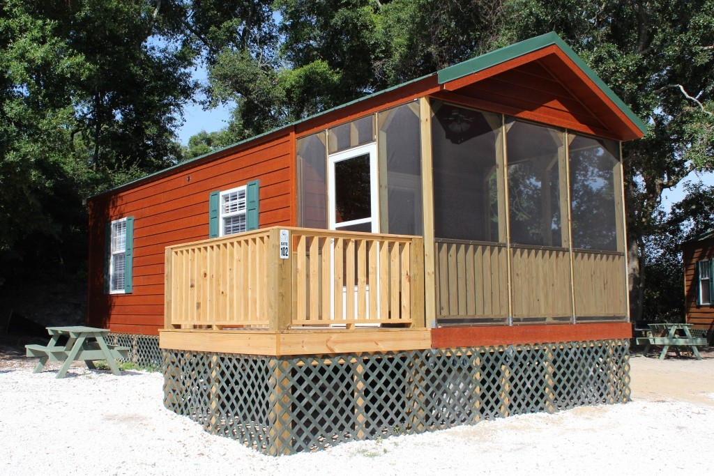 camping cabins in tybee island savannah gas beach Savannah Ga Cabins