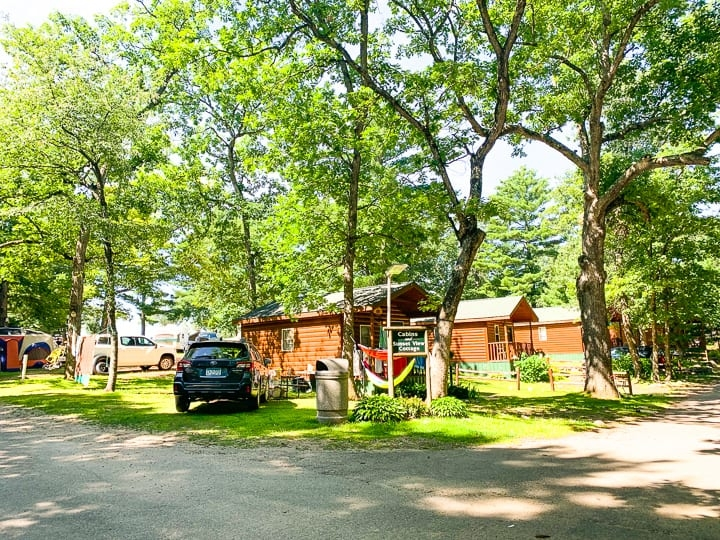 camping in wisconsin evergreen campsites resort jodi Campgrounds In Wisconsin With Cabins