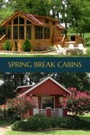 canton cabins are where its at for spring break rv park Cabins In Canton Tx