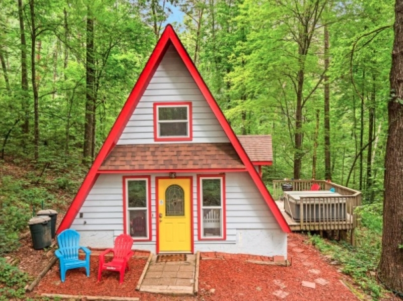 chattanooga vacation rentals windsong chalet chattanooga tn Cabins Near Chattanooga