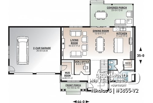 comfortable family home plans with 4 bedroom floor plans or 4 Bedroom Cabin Plans