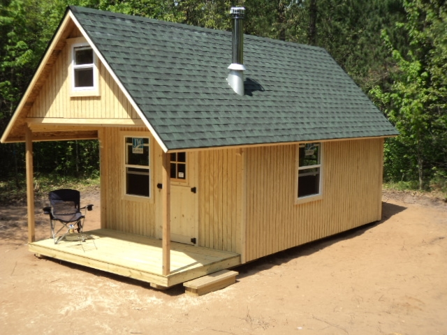 complete novice planning for a tiny shack small cabin forum 12x16 Cabin With Loft Plans